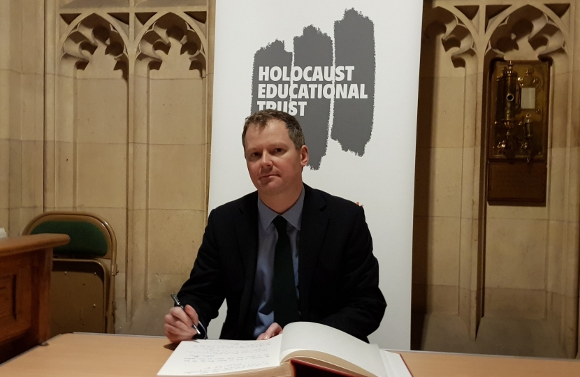 Neil O'Brien MP - Holocaust Memorial Day