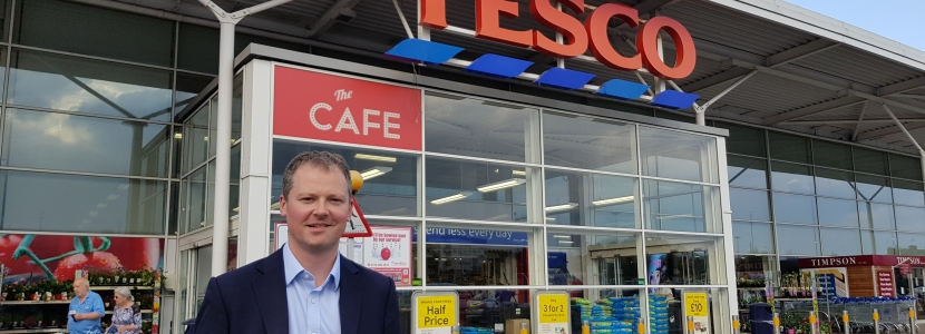 Neil O'Brien MP - Tesco South Wigston