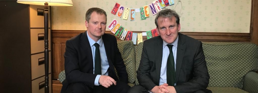 Neil O'Brien MP - Damian Hinds