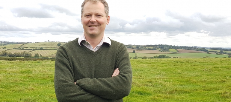 Neil in countryside