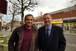 Neil O'Brien MP with Rik Basra
