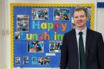 Neil O'Brien MP - school visit